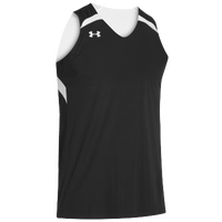 Under Armour Team Clutch Reversible Jersey - Men's - Black / White