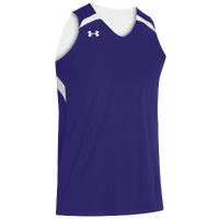 Under Armour Team Clutch Reversible Jersey - Men's - Purple / White