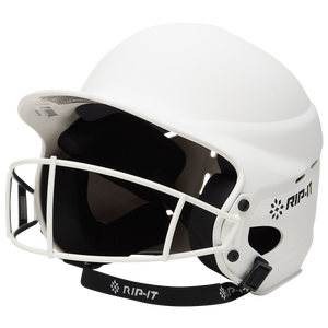RIP-IT Vision Pro Helmet with Facemask - Women's - Matte White