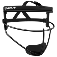 RIP-IT Defense Pro Face Guard - Grade School - All Black / Black