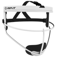 RIP-IT Defense Pro Face Guard - Grade School - White / Black