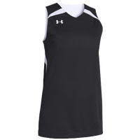 Under Armour Team Clutch Reversible Jersey - Women's - Black / White