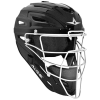 All Star System 7 MVP Catcher's Head Gear - Black / White