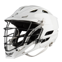 Cascade R Lacrosse Helmet - Men's - White / Black