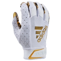 adidas adiZero 9.0 Anniversary Receiver Gloves - Men's - White