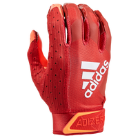 adidas adiZero 9.0 Receiver Gloves - Men's - Red