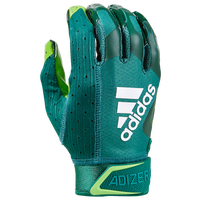 adidas adiZero 9.0 Receiver Gloves - Men's - Green