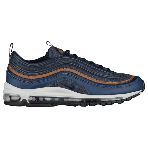 Nike Air Max 97 - Men\u0027s - Navy / Brown