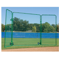 Diamond Team Tri Fold Screen With Wheels