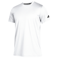 adidas Team Clima Tech T-Shirt - Boys' Grade School - White