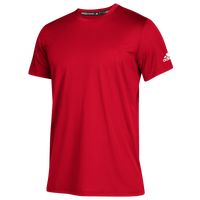 adidas Team Clima Tech T-Shirt - Boys' Grade School - Red