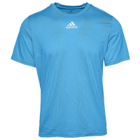 adidas Team Creator Short Sleeve T-Shirt - Men's - Light Blue