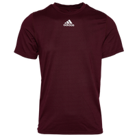 adidas Team Creator Short Sleeve T-Shirt - Men's - Maroon