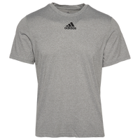 adidas Team Creator Short Sleeve T-Shirt - Men's - Grey
