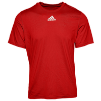 adidas Team Creator Short Sleeve T-Shirt - Men's - Red