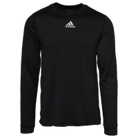 adidas Team Creator Long Sleeve T-Shirt - Men's - Black