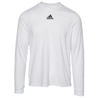 adidas Team Creator Long Sleeve T-Shirt - Men's - White