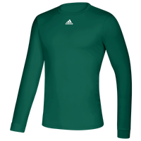 adidas Team Creator Long Sleeve T-Shirt - Men's - Dark Green