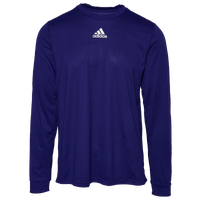 adidas Team Creator Long Sleeve T-Shirt - Men's - Purple