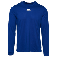 adidas Team Creator Long Sleeve T-Shirt - Men's - Blue