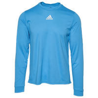 adidas Team Creator Long Sleeve T-Shirt - Men's - Light Blue
