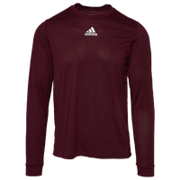 adidas Team Creator Long Sleeve T-Shirt - Men's - Maroon