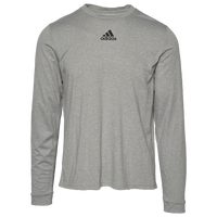 adidas Team Creator Long Sleeve T-Shirt - Men's - Grey
