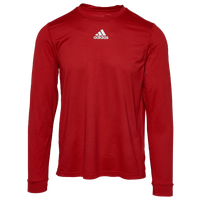 adidas Team Creator Long Sleeve T-Shirt - Men's - Red