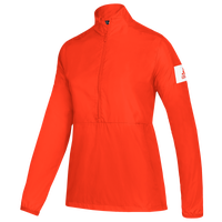 adidas Team Game Mode L/S 1/4 Zip Jacket - Women's - Orange