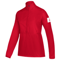 adidas Team Game Mode L/S 1/4 Zip Jacket - Women's - Red