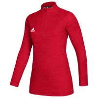 adidas Team Game Mode Performance 1/4 Zip - Women's - Red