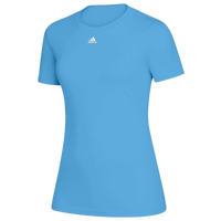 adidas Team Creator Short Sleeve T-Shirt - Women's - Light Blue