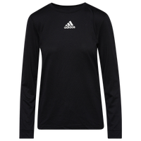 adidas Team Creator Long Sleeve T-Shirt - Women's - Black