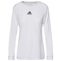 adidas Team Creator Long Sleeve T-Shirt - Women's - White