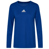 adidas Team Creator Long Sleeve T-Shirt - Women's - Blue