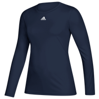adidas Team Creator Long Sleeve T-Shirt - Women's - Navy