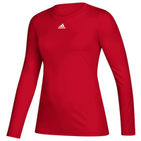 adidas Team Creator Long Sleeve T-Shirt - Women's - Red