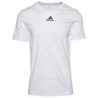 adidas Team Amplifier Short Sleeve T-Shirt - Men's - White