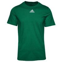 adidas Team Amplifier Short Sleeve T-Shirt - Men's - Dark Green