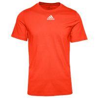 adidas Team Amplifier Short Sleeve T-Shirt - Men's - Orange