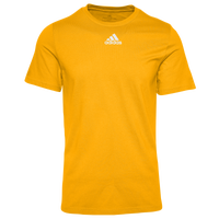 adidas Team Amplifier Short Sleeve T-Shirt - Men's - Gold