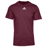 adidas Team Amplifier Short Sleeve T-Shirt - Men's - Maroon
