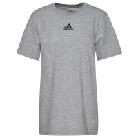 adidas Team Amplifier Short Sleeve T-Shirt - Men's - Grey