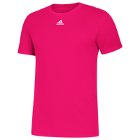 adidas Team Amplifier Short Sleeve T-Shirt - Men's - Pink