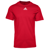 adidas Team Amplifier Short Sleeve T-Shirt - Men's - Red