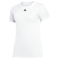 adidas Team Amplifier Short Sleeve T-Shirt - Women's - White