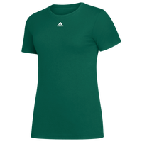 adidas Team Amplifier Short Sleeve T-Shirt - Women's - Dark Green