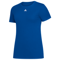 adidas Team Amplifier Short Sleeve T-Shirt - Women's - Blue