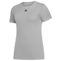 adidas Team Amplifier Short Sleeve T-Shirt - Women's - Grey