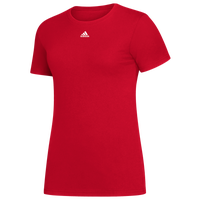 adidas Team Amplifier Short Sleeve T-Shirt - Women's - Red